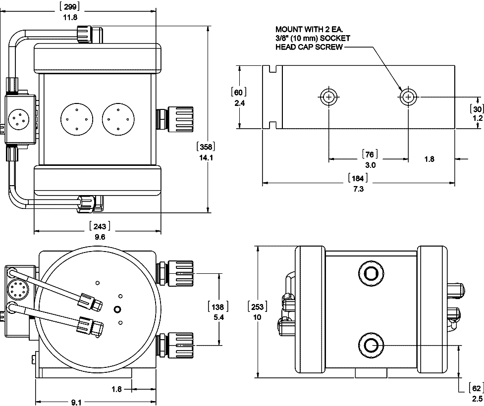 At Series Pumps White Knight Fluid Handling Free Download At100 Wiring Diagram At300hd Pump Dimensions