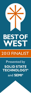 White Knight Best of West Finalist Ribbon