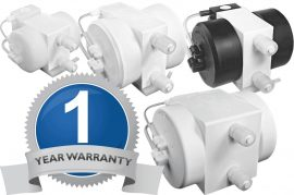 White Knight One-Year Warranty for Legacy Pumps