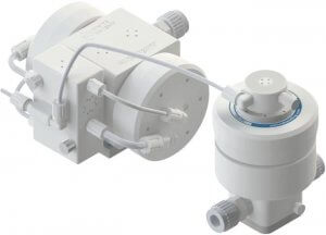 PSH060 Pump with DBH060 Pulse Dampener In Line