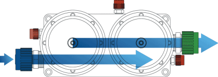 Dual-Camber Parallel Filter Housing