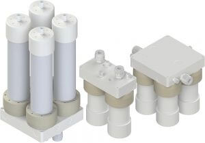 White Knight Non-Metalic High-Purity Filter Housings