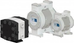 White Knight High-Purity Air-Operated Double-Diaphragm Pumps