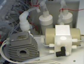 Levitronix centrifugal pump and White Knight pump