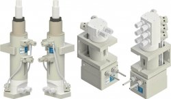 White Knight Metering Pumps for Chemical Dispense