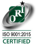 ISO 9001-2015 Certified Orion Logo