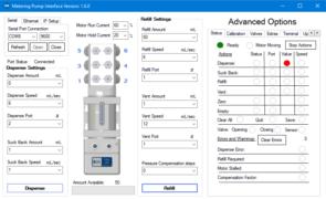 PEM050 电子式计量泵 软件界面