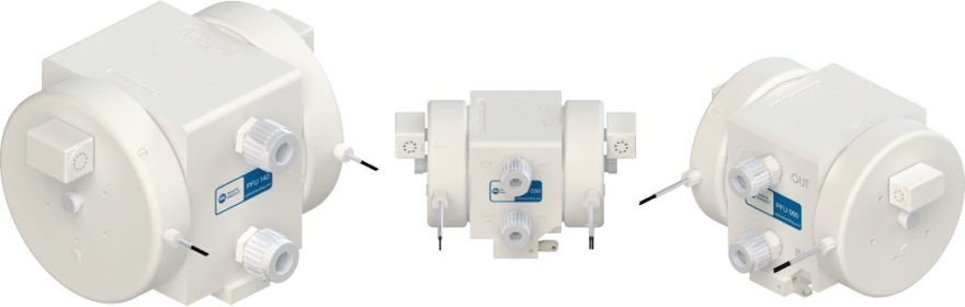 White Knight PFU Series Air-Operated Double-Bellows Pumps