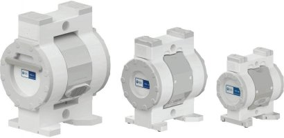 White Knight High-Purity Pneumatic Double-Diaphragm Pumps