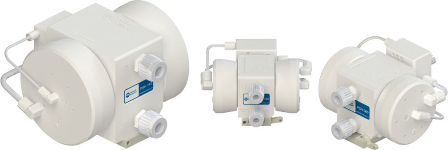 White Knight PSH Series Air-Operated Double-Bellows Pumps