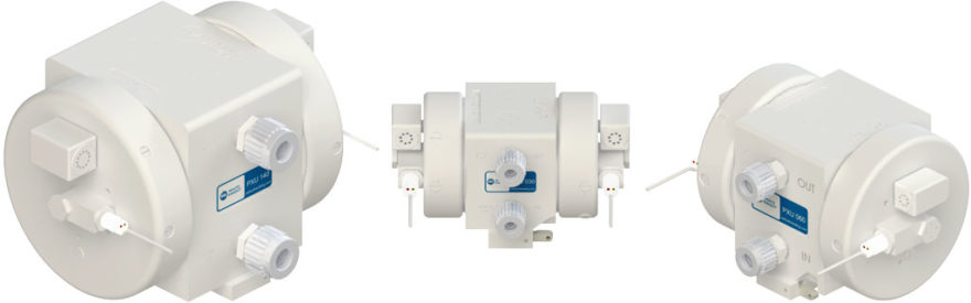 PXU 系列泵 气体驱动的双风囊泵