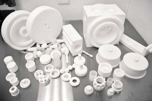 White Knight High-Purity Pump Components After Use