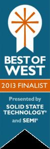 Semicon Best of West Finalist 2013