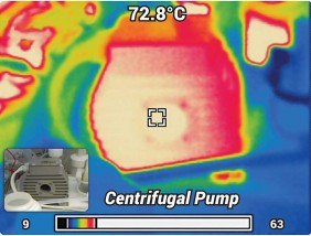 Thermal Image of Levitronix Centrifugal Pump