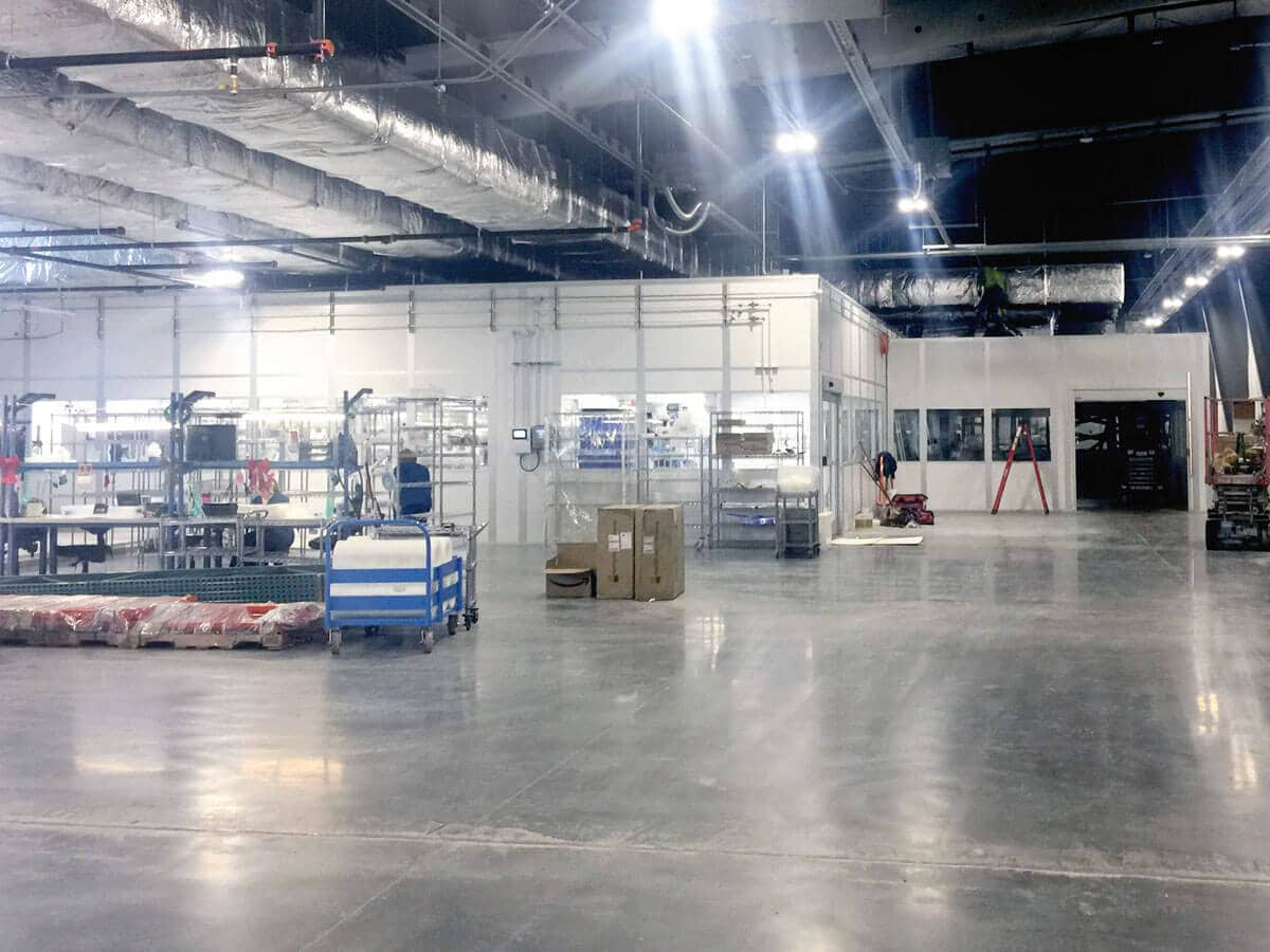 White Knight Facility Expansion 2018 Dec 05