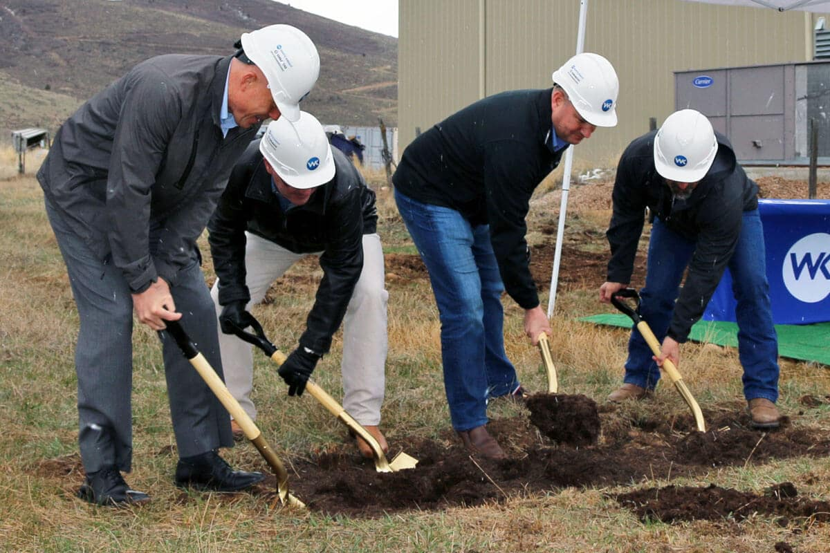 White Knight Facility Expansion Groundbreaking 2018