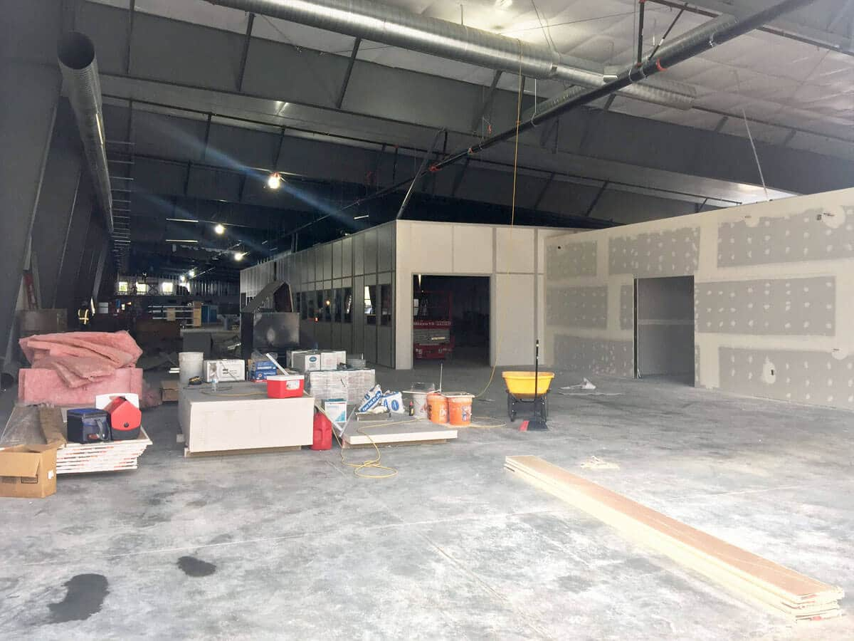 White Knight Facility Cleanroom 04 Oct 2018