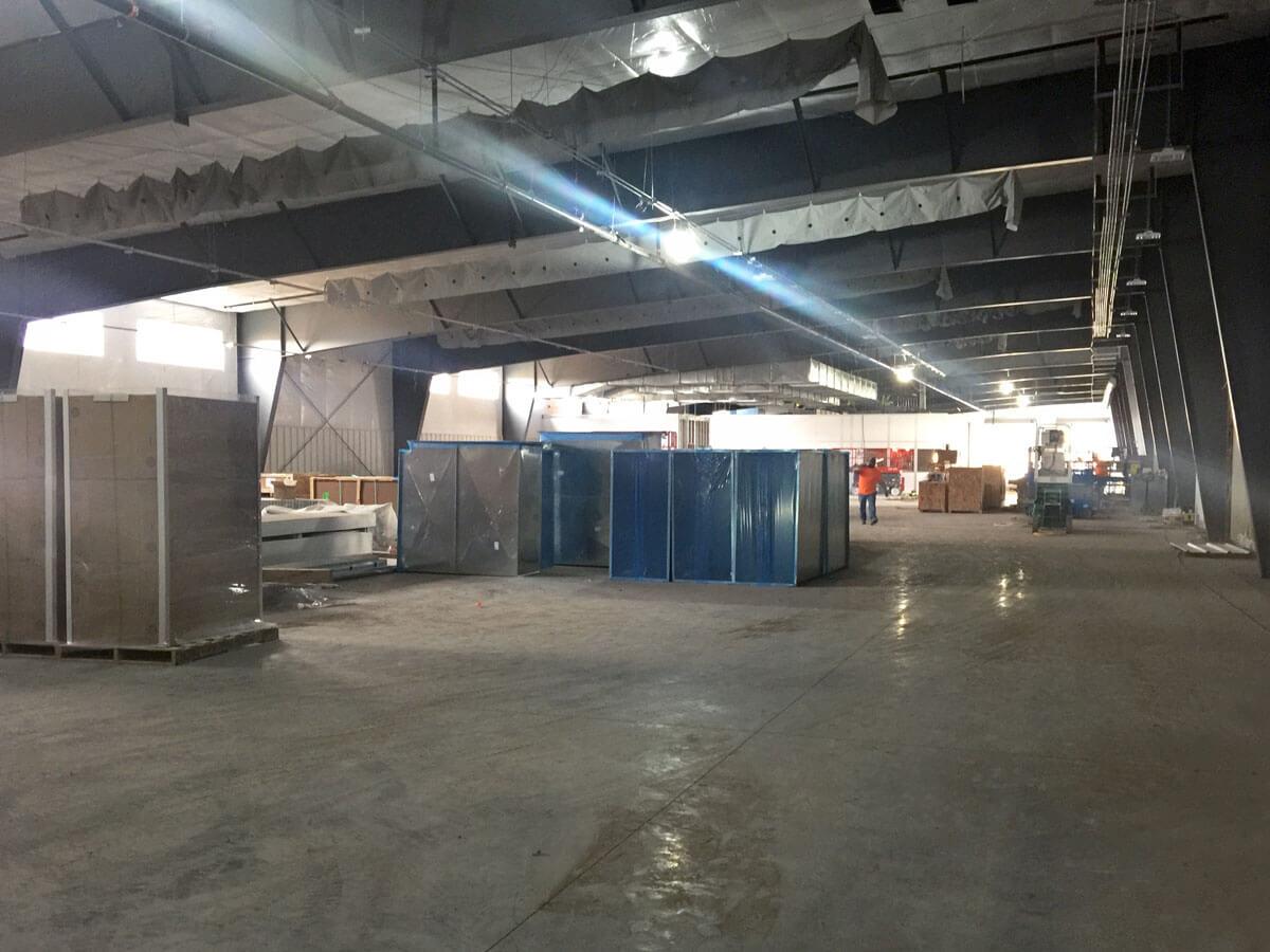 White Knight Facility Interior 04 Oct 2018