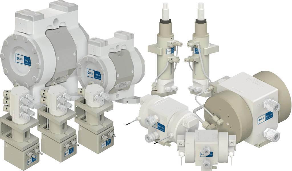 Pumps white knight bellows diaphragm metering